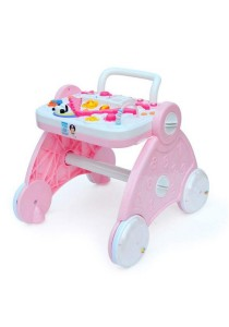 Multifunction Baby Walker Early Education - Pink