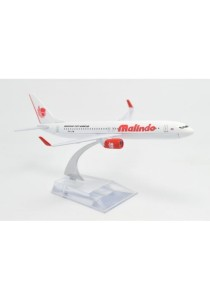 Malindo B737 16cm Passenger Aircraft Model Die Cast Collection