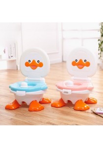 Baby Toddler Safety Potty Training Toilet Seat Cute Duck Pink
