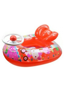 Original Hello Kitty Swimming Seat Float With Steering Swimming Float