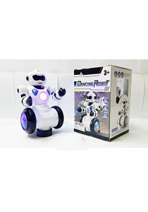 360 Rotate Dancing Robot Electric Robot With Light Music Musical Toys For Children