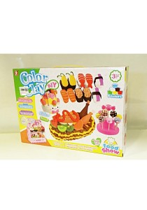 Funny Children Education Color Clay Dough Set of Cooking and Baking