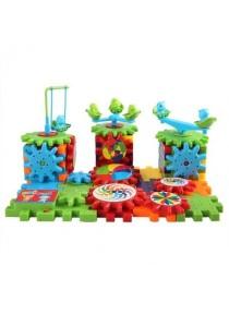 Doraemon Gear Spin Building Block Brick Toy Set for Kids Fashion Block 81 Pcs