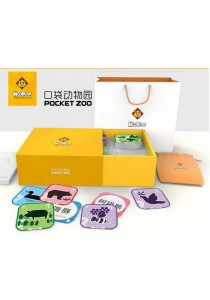 Neobear Pocket Zoo Augmented Reality (96 Pcs 3D Cards)