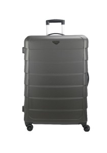 "Royal McQueen Stylish 8 Wheels Spinner 28"" Hard Case Luggage - QTH6909 (Brown)"