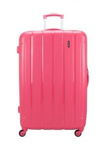 "Royal McQueen QTH6907 4 WheelsSpinnner 24"" Hard Case Luggage (Pink)"