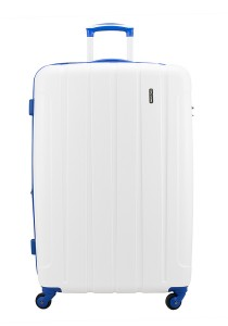 "Royal McQueen QTH6907 4 WheelsSpinnner 28"" Hard Case Luggage (White)"
