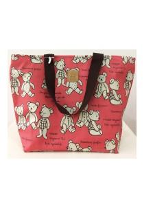 Queen And Cat Waterproof Travel Bag (Teddy Bears)