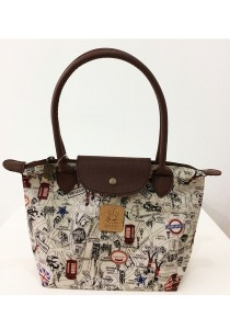 Queen And Cat Waterproof Small Long Champ Bag (London Street)