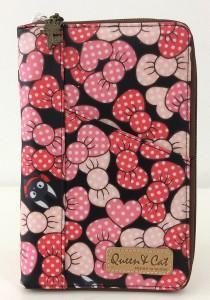 Queen And Cat Waterproof Notepad Organizer Wallet (Heart Shape)