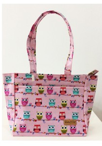 Queen And Cat Waterproof Horizontal Pocket A4 Bag (Colourful Owl)