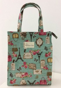 Queen And Cat Waterproof Straight A4 Bag (Paris and Rose)