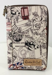 Queen And Cat Waterproof Travel Organizer Wallet (London Street)