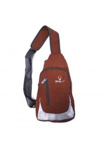 Body-V Canvas Chest Shoulder Bag