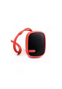 Original Remax RB-X2 Water Resistant Wireless Bluetooth Speaker With Mountaineering Buckle - Red