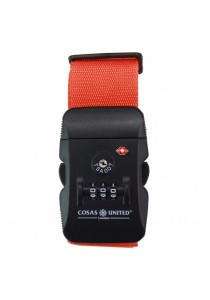 Cosas United TSA Security Luggage Strap (Orange)