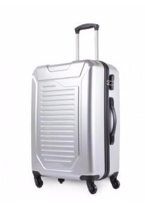Ragdoll 4-Wheel Hard Case 24 inch (Silver)