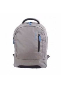 Roncato 15.6 Runaway Laptop Backpack w Front Pocket (Silver)