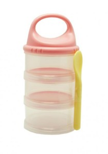 Richell Baby Food Containers with Spoon 98165