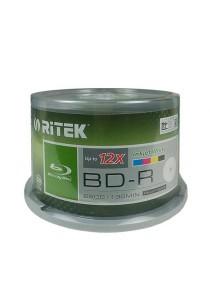 Ritek BD-R 6x-12x Printable 25GB CB50
