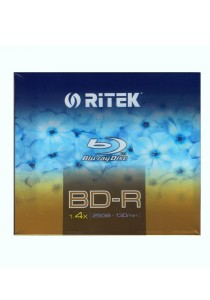 Ritek Blu-ray Dics 4x 25GB Jewel Pack