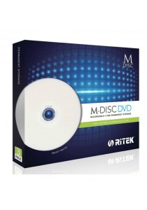 Ritek M Disc DVD 4.7GB Permanent Storage