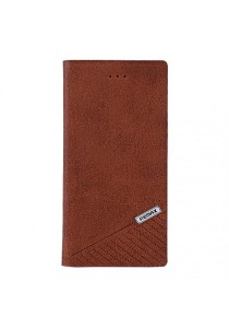 REMAX Jazz Series iphone 6 Plus Leather Case (Brown)