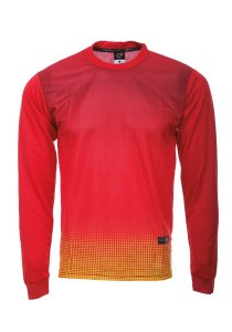 Dye Sublimation Jersey RNS 02 LS (Red)