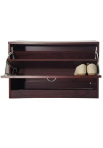 Rosewood 2-in-1 Shoe Cabinet