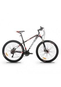 "Cronus Rover 650BN 27.5"" MTB Mountain Bike with Shimano 30-Speed (Black/Red) CT:15.5"""