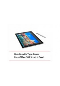 Microsoft Surface Pro 4 i5/8G 256GB + Type Cover  + (Free Office 365 Scratch Card)