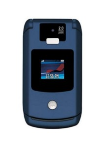 (Refurbished) Motorola V3x (Blue)
