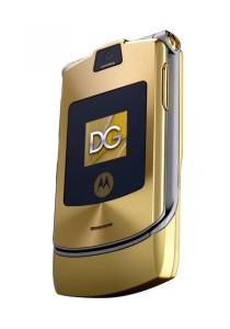 (Refurbished) Motorola V3i D&G Edition (Gold)