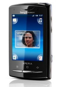 (Import) Sony Ericsson Xperia X10 Mini Pro U20 - (Black)