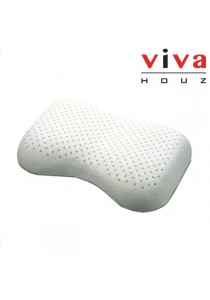Viva Houz Rubber Foam Pillow (Bean Shape)