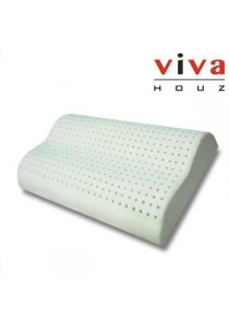 Viva Houz Rubber Foam Pillow (Contour Pillow)