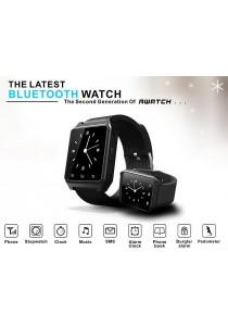 RWATCH M28 Big LCD 1.4 Inch Bluetooth Smartwatch - Black