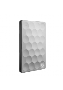Seagate 1TB Seagate Backup Plus Ultra Slim Portable Drive - Platinum (STEH1000300)