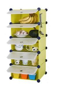 Tupper Cabinet 5 Cubes DIY  Kitchen Storage Green