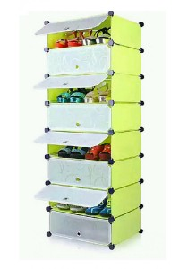 Tupper Cabinet 8 Cubes Fruit Green DIY Shoe Rack Fruit Green