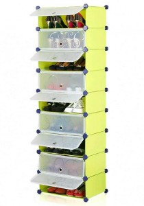 Tupper Cabinet 9 Tier 9 Cubes Fruit Green DIY Shoe Rack