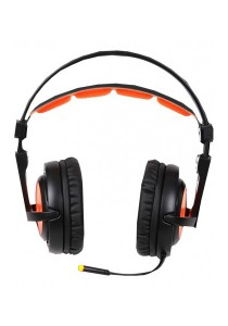 Sades A6 Gaming Headset (Black Orange)