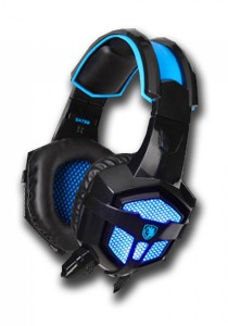 Sades SA-738 Gaming Headset (Black Blue)