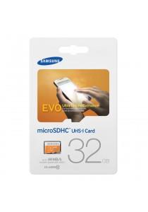 (Genuine) Samsung 32GB EVO Class 10 Micro SDHC 48MB/s Memory Card with Adapter MB-MP32DA