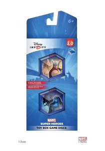 Disney Infinity 2.0 Toy Box Game Disc Marvel Super Heroes