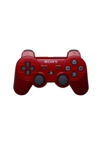 Dual Shock 3 Controller 3rd Party (Red) for PS3