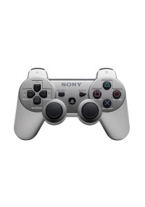 Dual Shock 3 Controller 3rd Party (Silver) for PS3