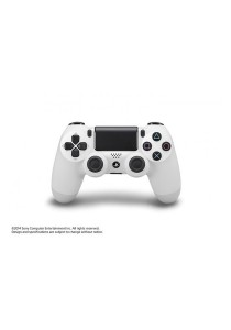 Sony Dual Shock 4 Wireless Controller (Glacier White)