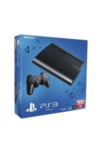 PS3 Super Slim 500GB - Black (Asia)