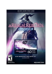 Final Fantasy XIV: A Realm Reborn 60 Day Game Time Card (PS4/PS3/PC) US Server